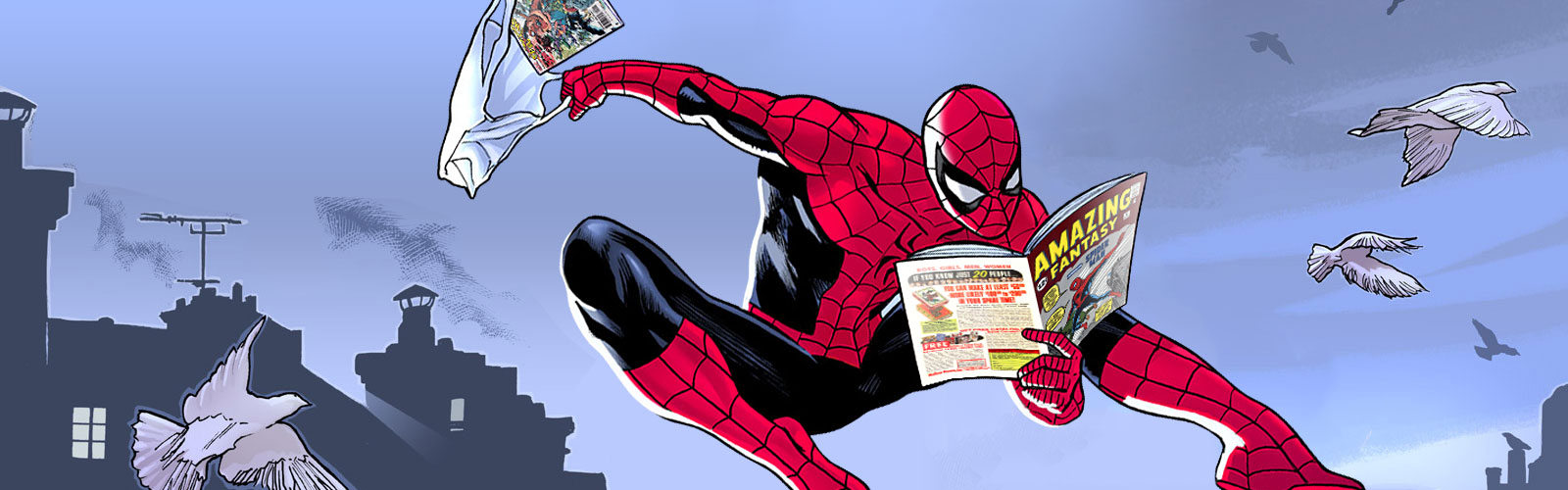Spidey Reading